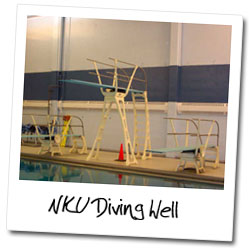 Northern Kentucky University Diving Well